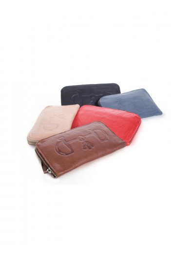 Tassel-Bit leather wallets